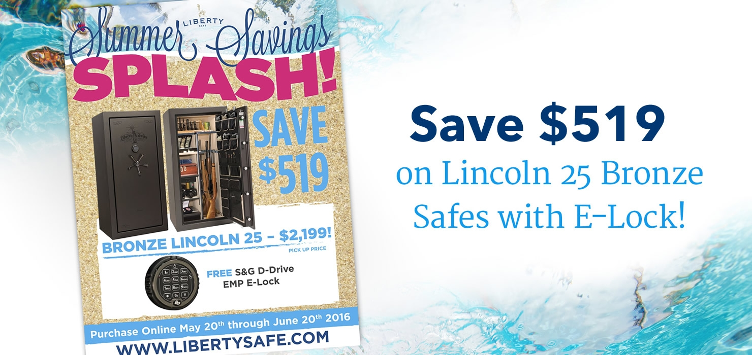 Lincoln 25 Bronze Summer Savings
